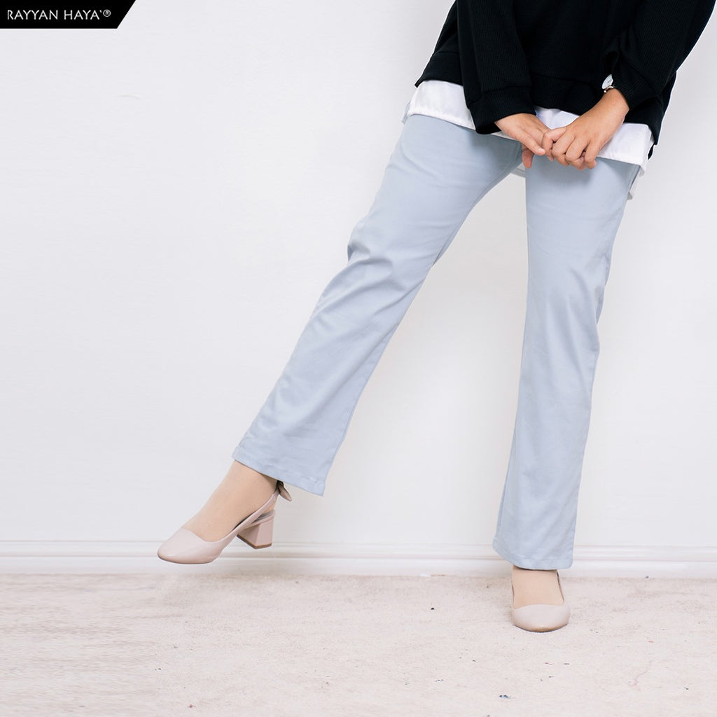 Ankle Loose Pants (Baby Blue)