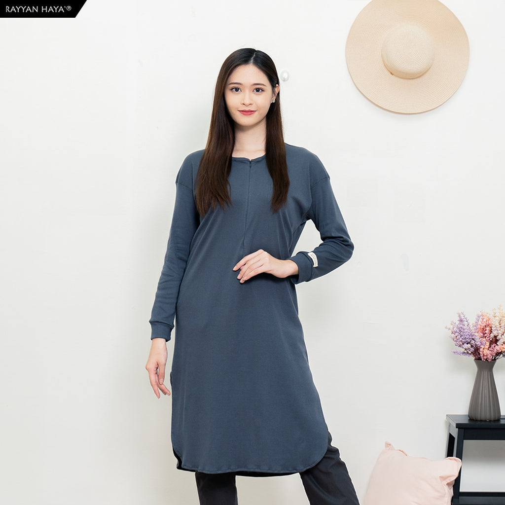 Neyra Long Top (Grey)