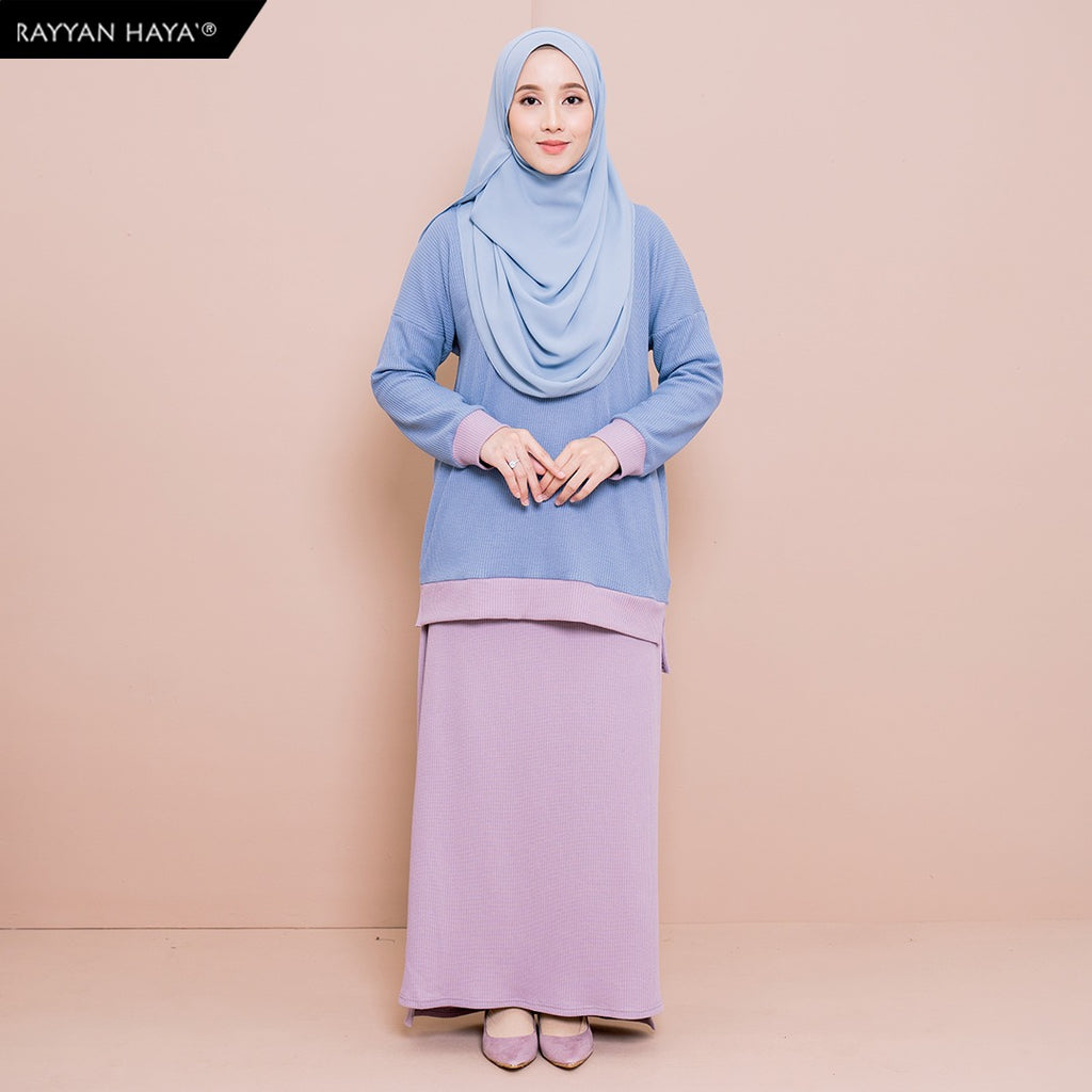 Dinara Set (Light Blueberry)