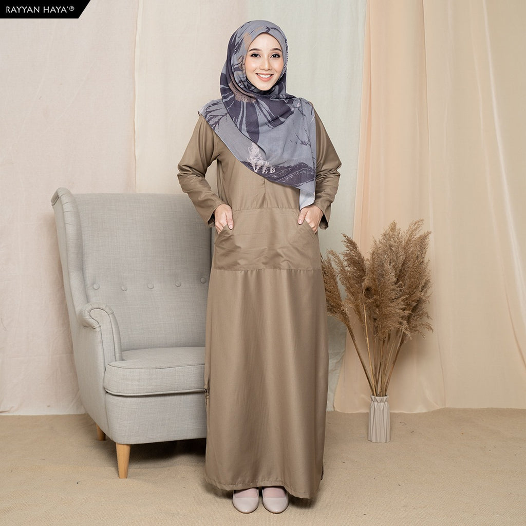 Camellia Long Top (Khaki)