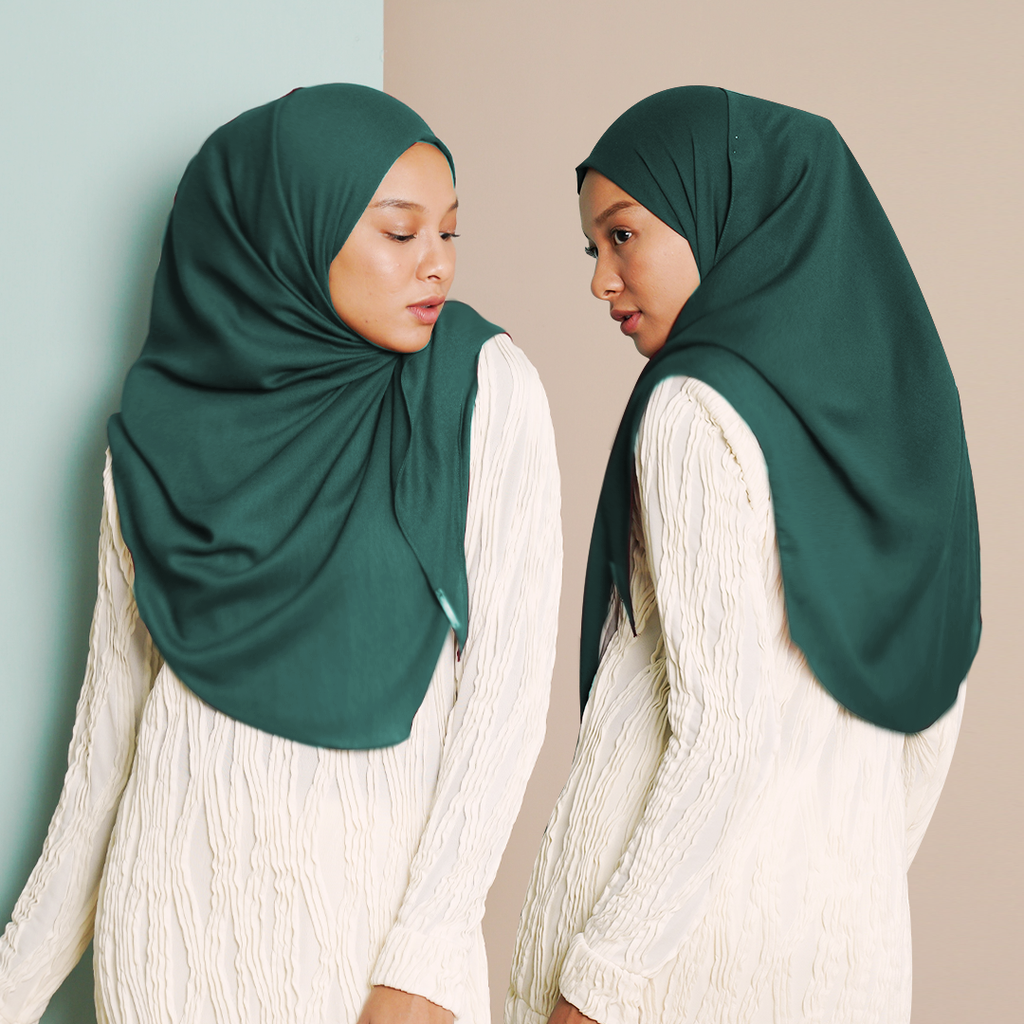 Ayraa Semi Instant Ironless (Dark Green)