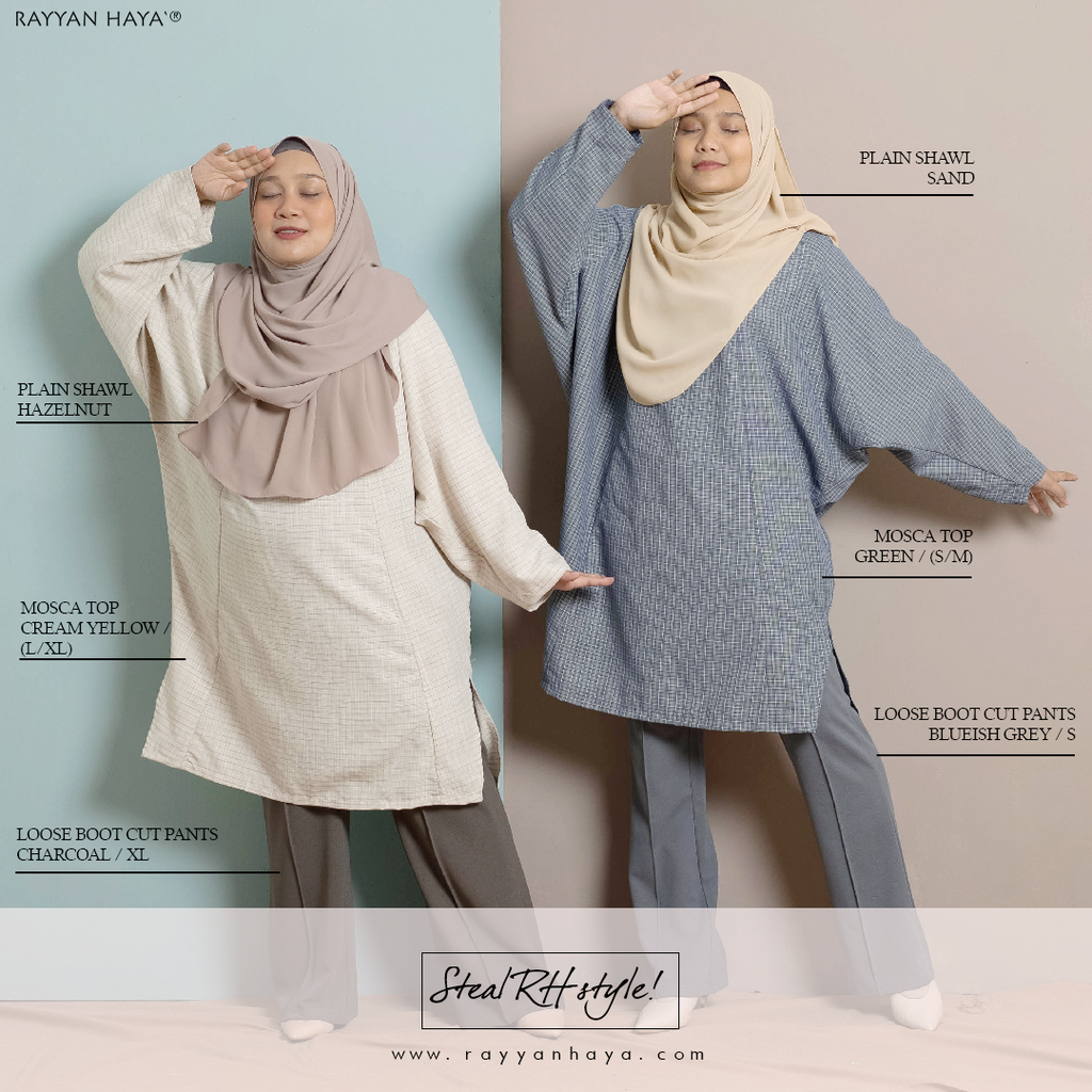 Mosca Top (Blue Grey)