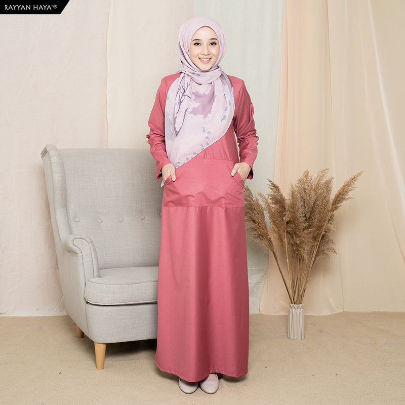 Camellia Long Top (Flamingo)