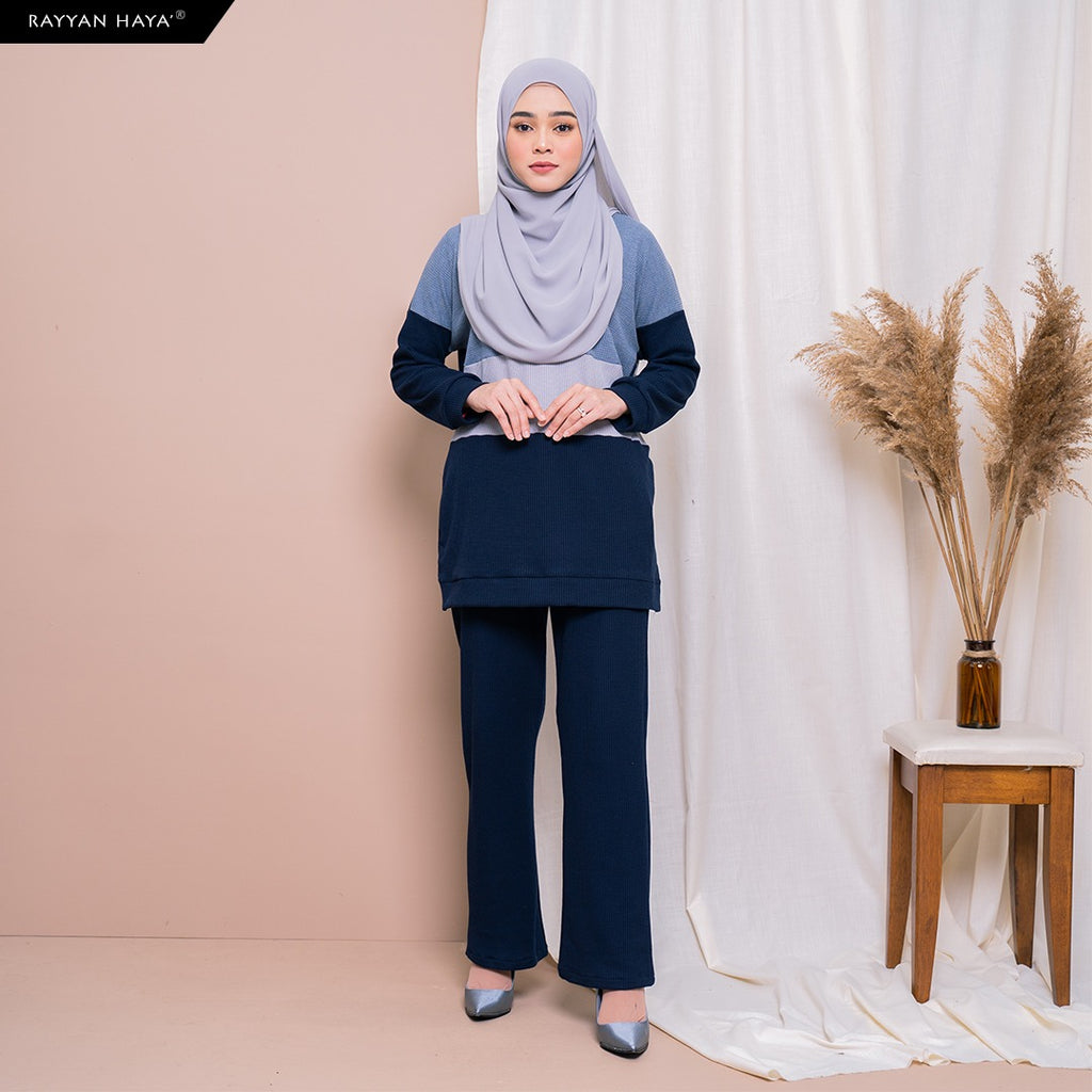Dinah Set (Dusty Navy)