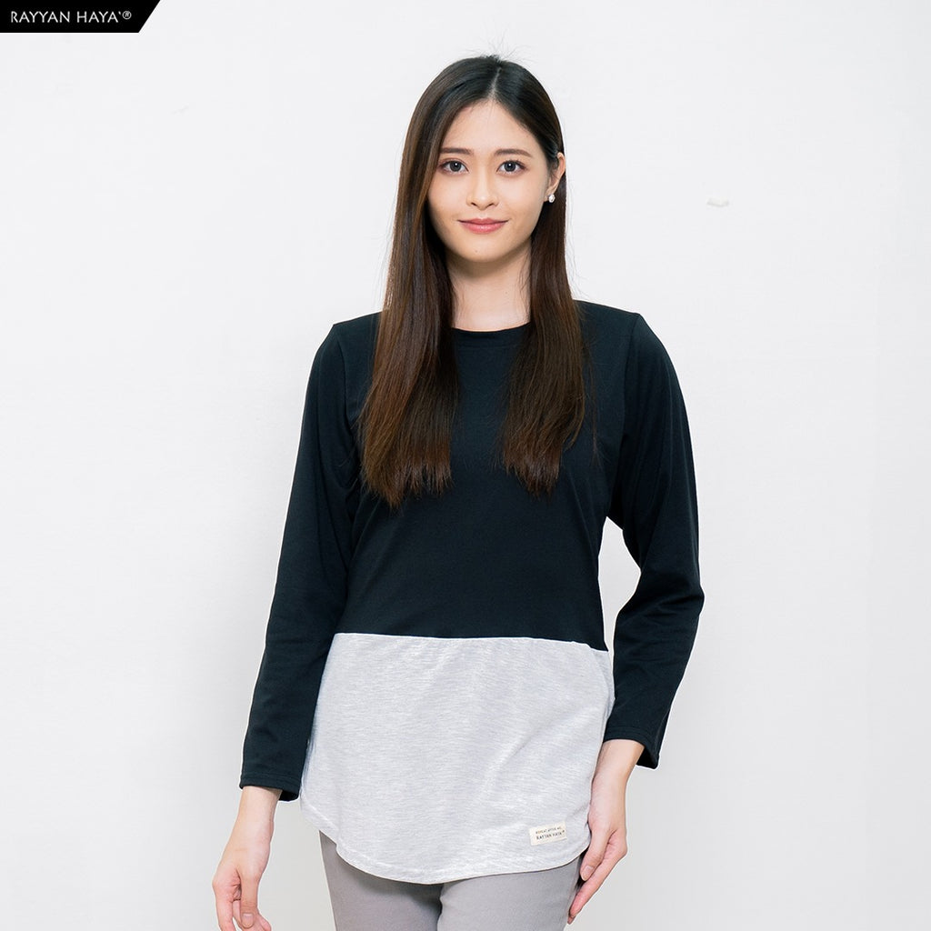 Dwi Top (Black Heather)