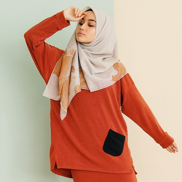 Zara Top (Cinnamon)