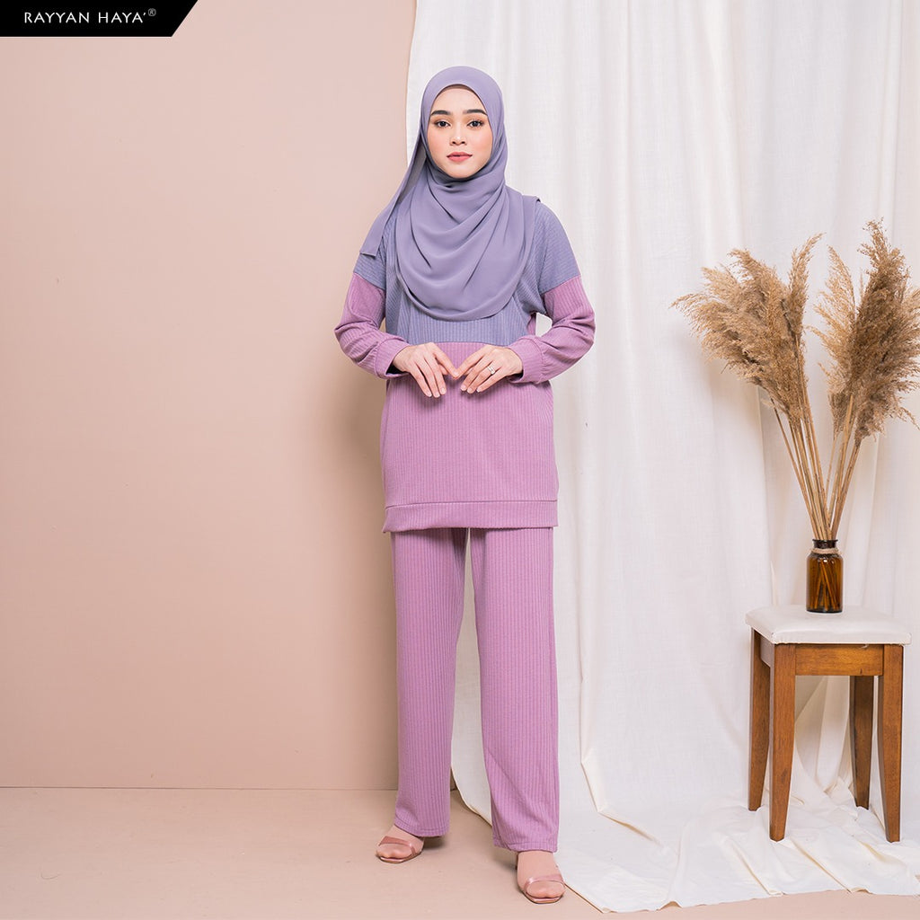 Dinah Set (Berry Lavender)