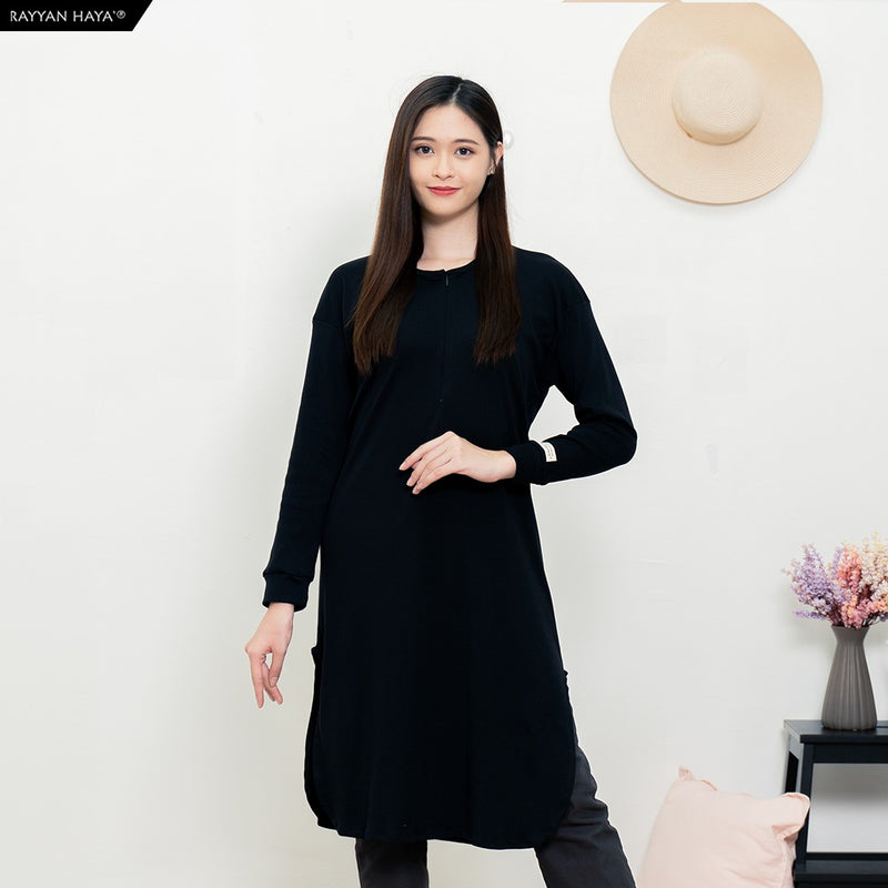 Neyra Long Top (Black)