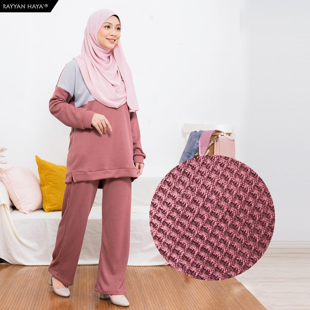 Dinah Set (Silver Dusty Pink)