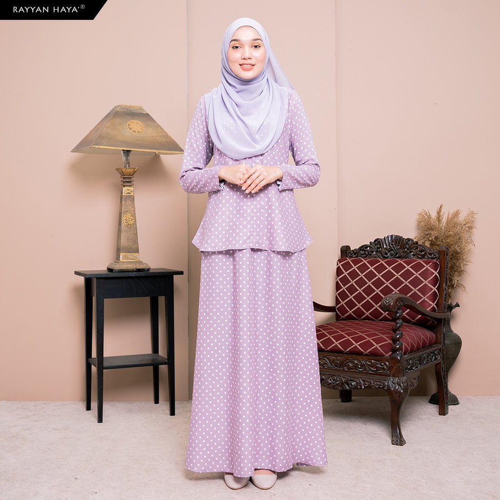 Lily Skirt Set (Lilac) BUY 2 FREE 1 GIFT & BUY 3 FREE 2 GIFT