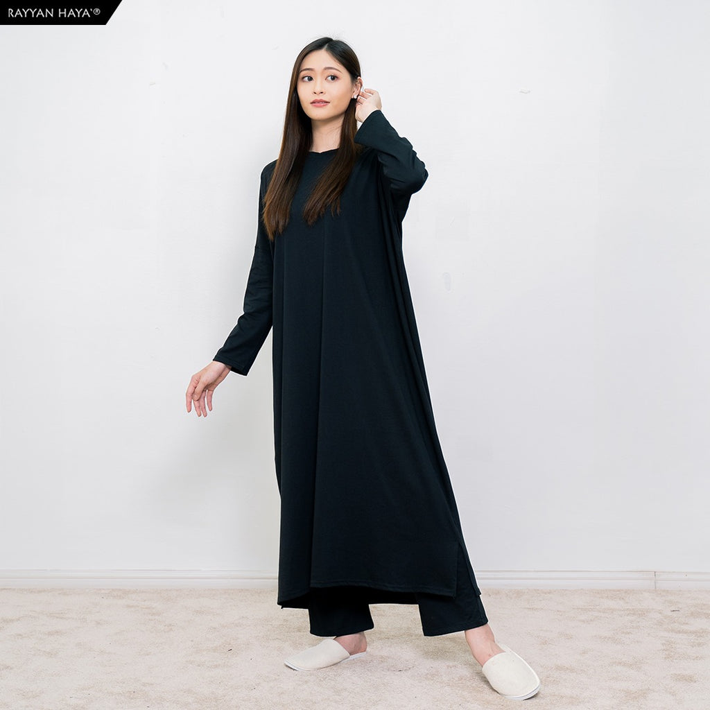 Batwing Dress (Black)