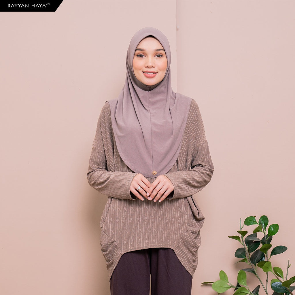 SAMPLE Meena Top (Hazelnut)
