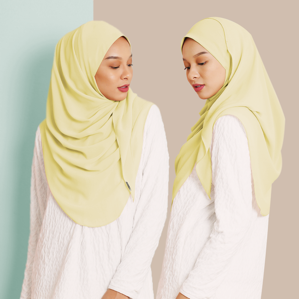 Ayraa Semi Instant Ironless (Yellow)