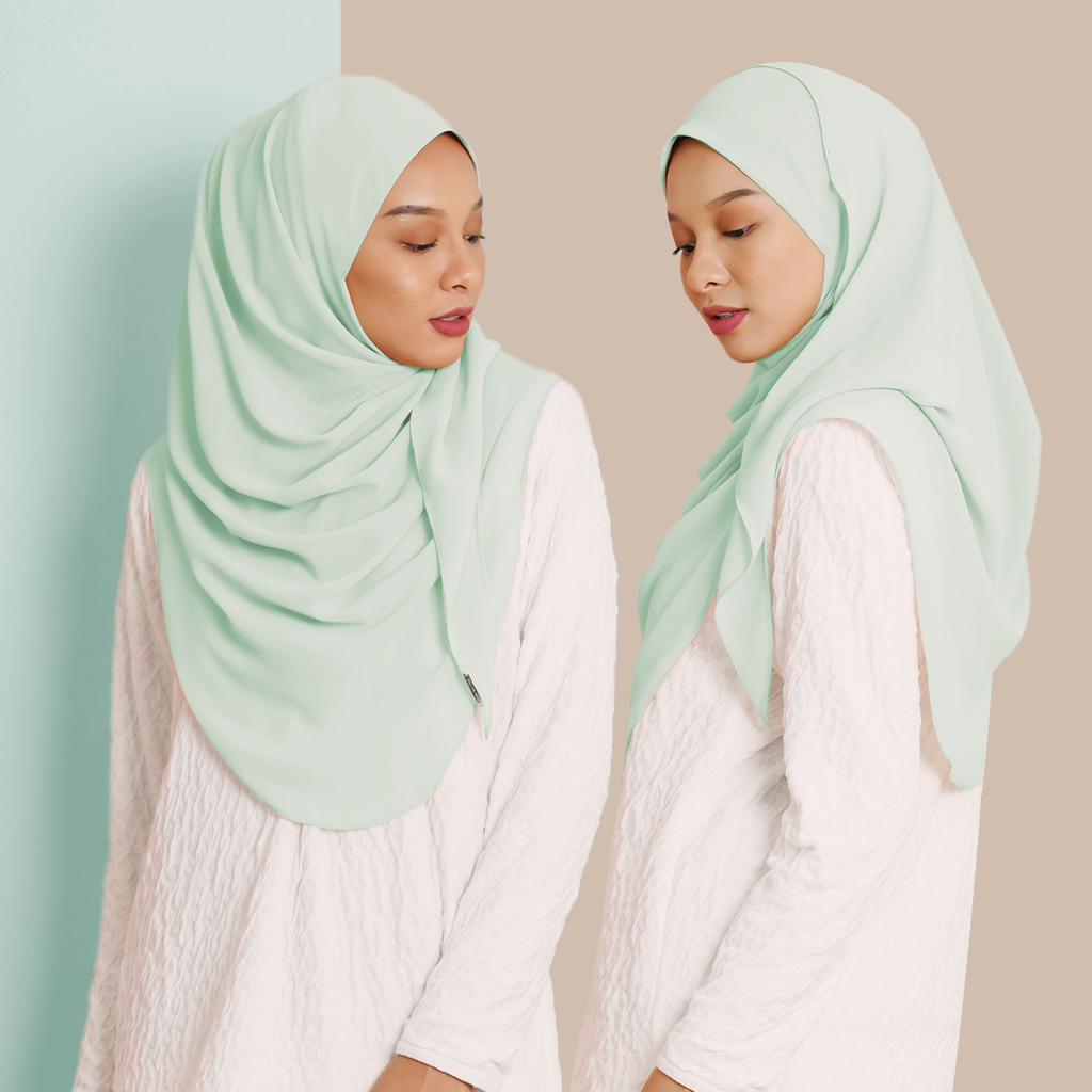 Ayraa Semi Instant Ironless (Mint)