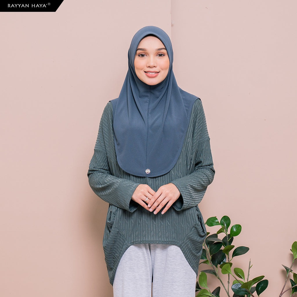 SAMPLE Meena Top (Deep Green)