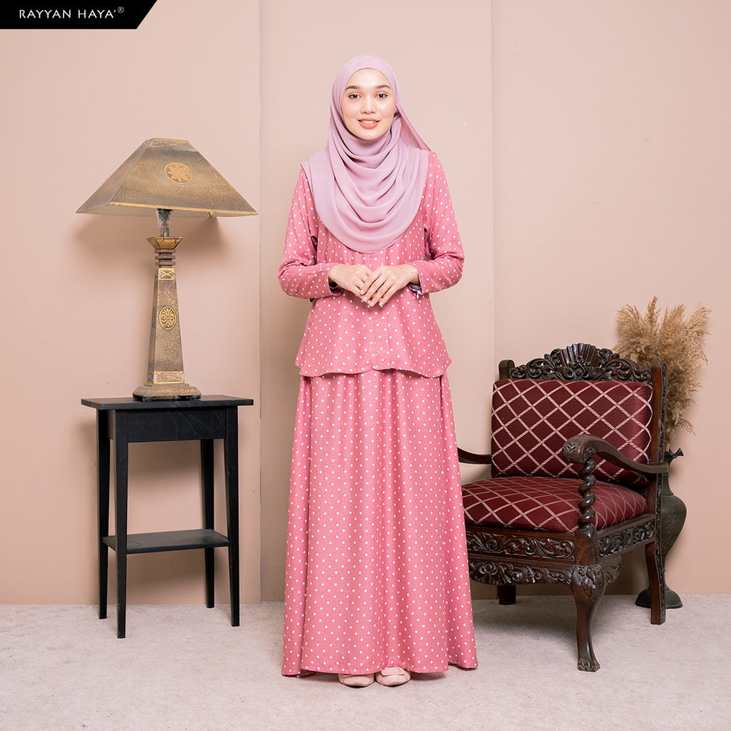Lily Skirt Set (Sunset Pink) BUY 2 FREE 1 GIFT & BUY 3 FREE 2 GIFT