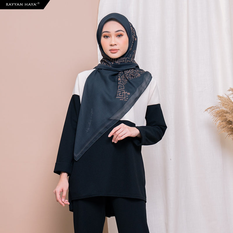 Hannah Top (Snowy Black) BUY 2 FREE 2 GIFTS & BUY 3 FREE 4 GIFTS