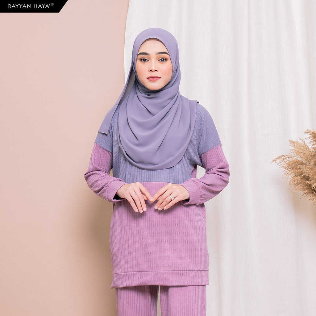 Dinah Top (Berry Lavender)