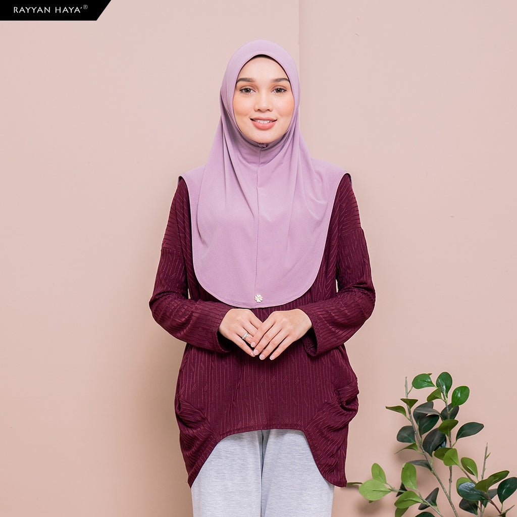 Meena Top (Cranberry)