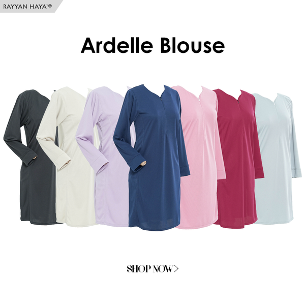 Ardelle Blouse (Champagne)