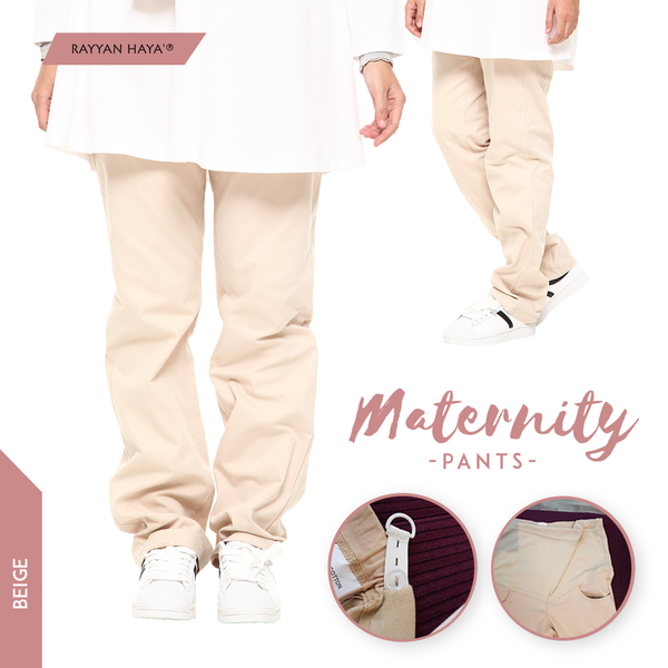 Maternity Pants (Beige)