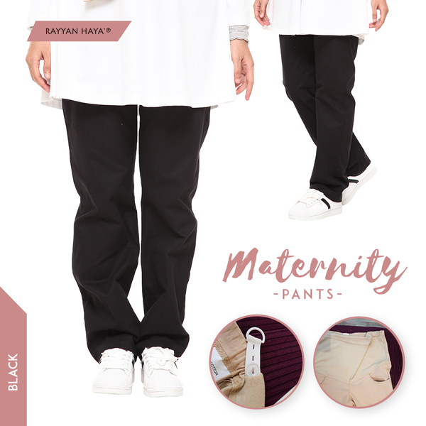Maternity Pants (Black)