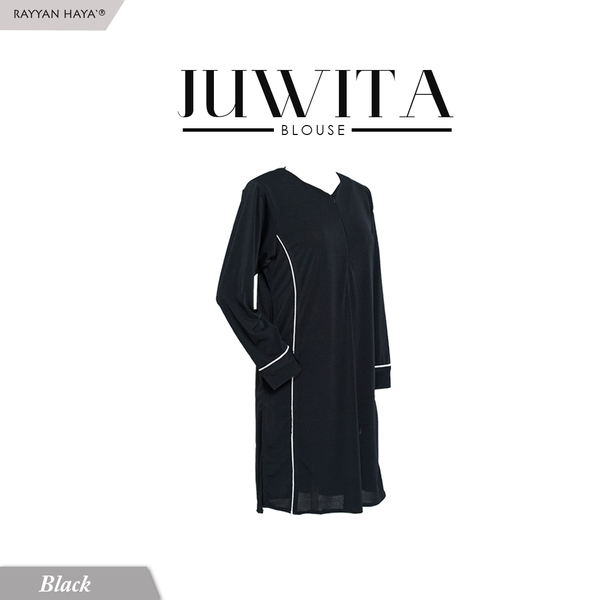 Juwita Blouse (Black)