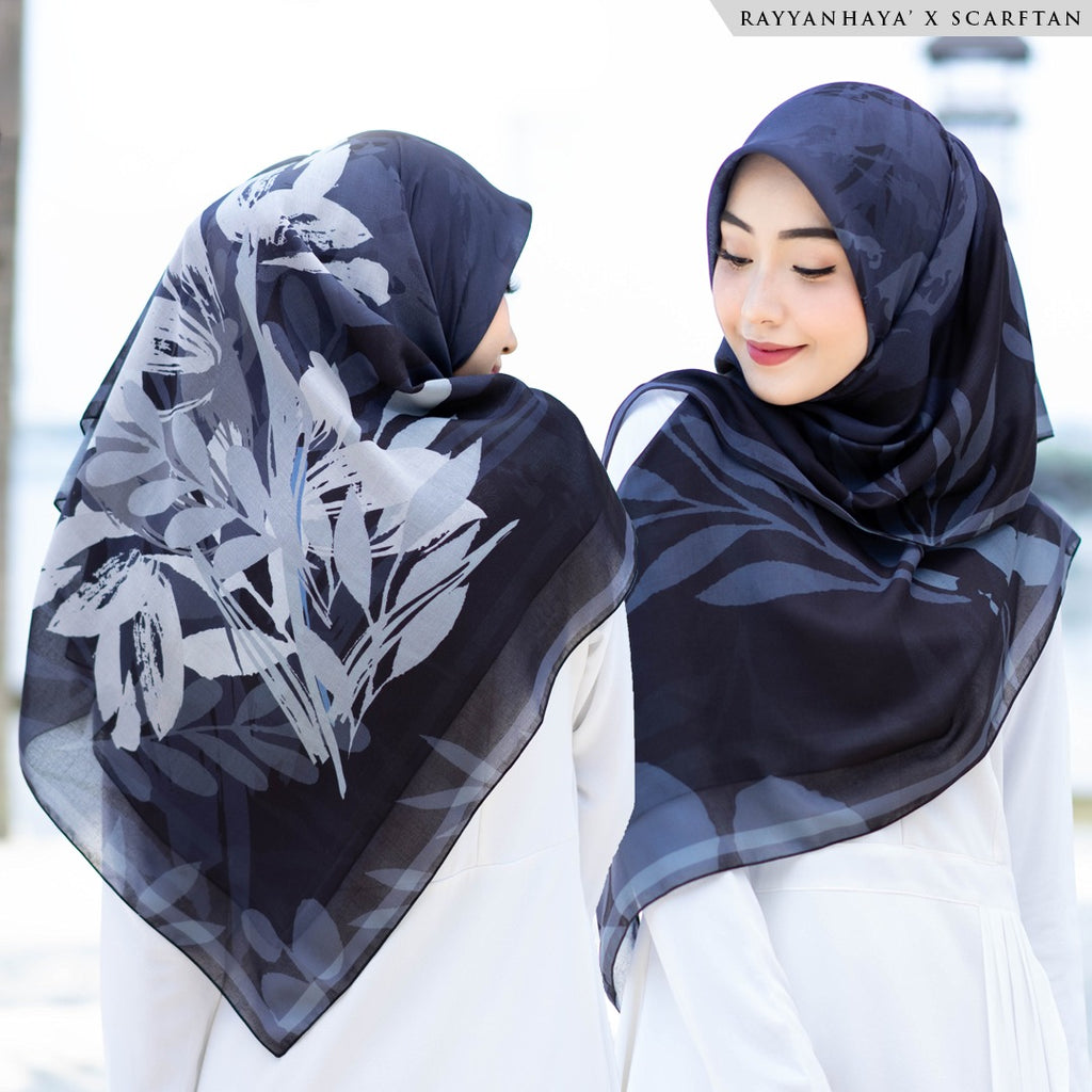 READY STOCK Bawal Tulip 130cm (Black)
