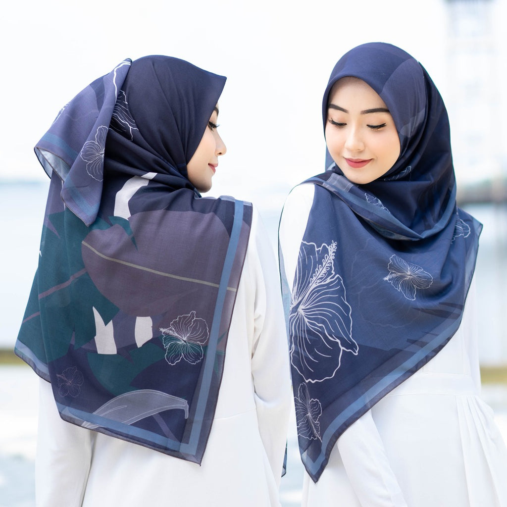 Bawal Hibiscus 50' (Blue Black)