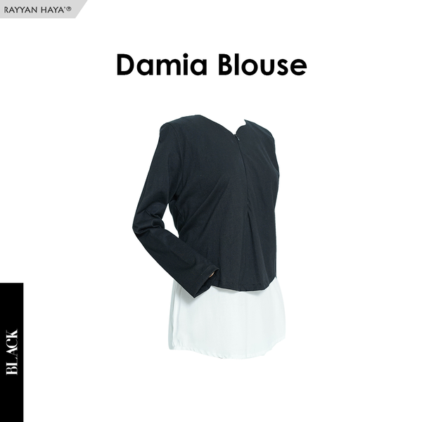 Damia Blouse (Black)