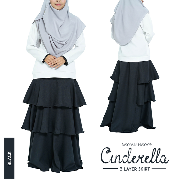Cinderella Skirt (Black)