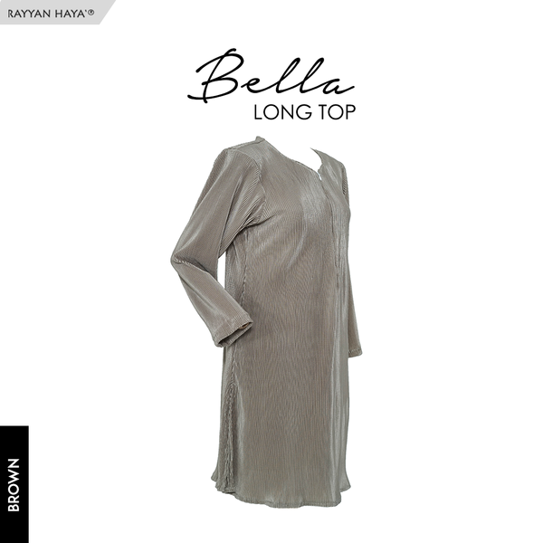 Bella Long Top (Brown)