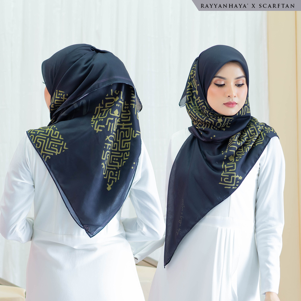 READY STOCK Bawal Kufi 130cm (Black)