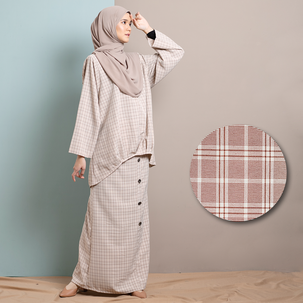 Khayra Suit (Brown)