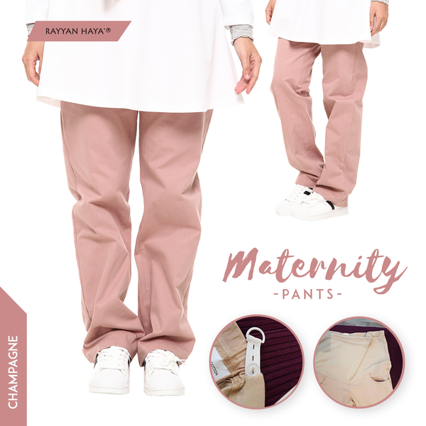 Maternity Pants (Champagne)