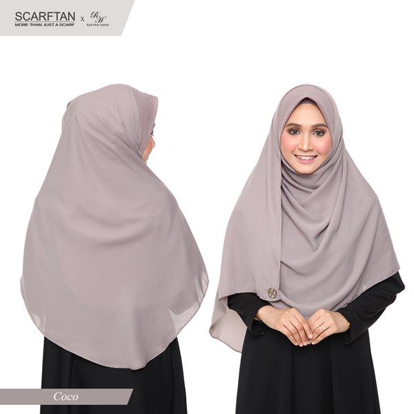 Bawal Instant Shawl (Coco)