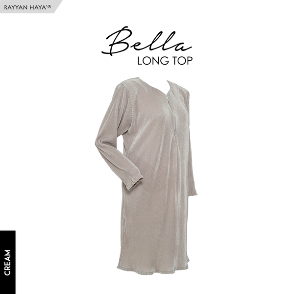 Bella Long Top (Cream)