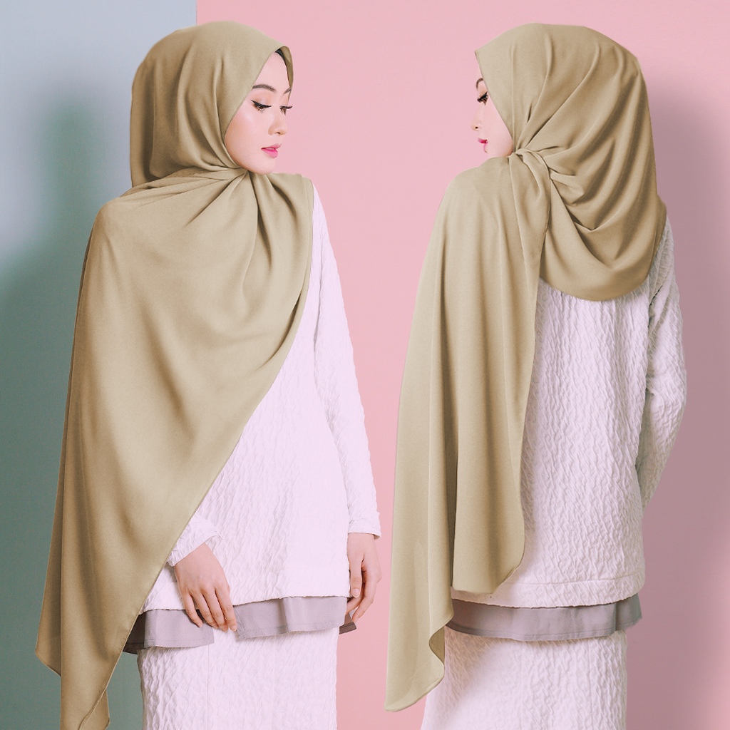 Plain Shawl (Sand)
