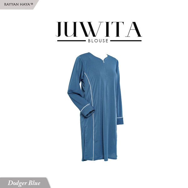 Juwita Blouse (Dodger Blue)