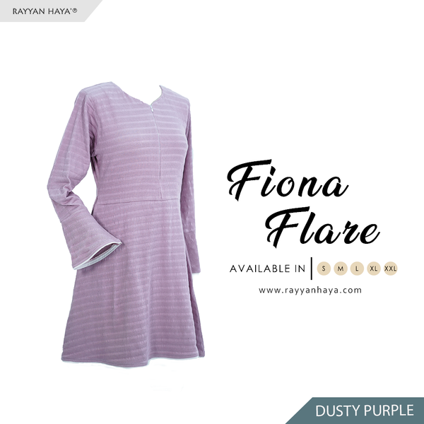 Fiona Flare (Dusty Purple)