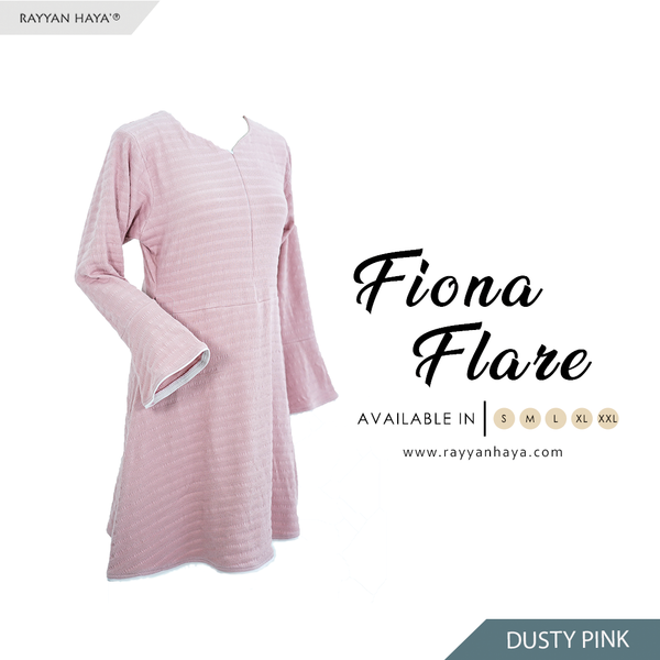 Fiona Flare (Dusty Pink)