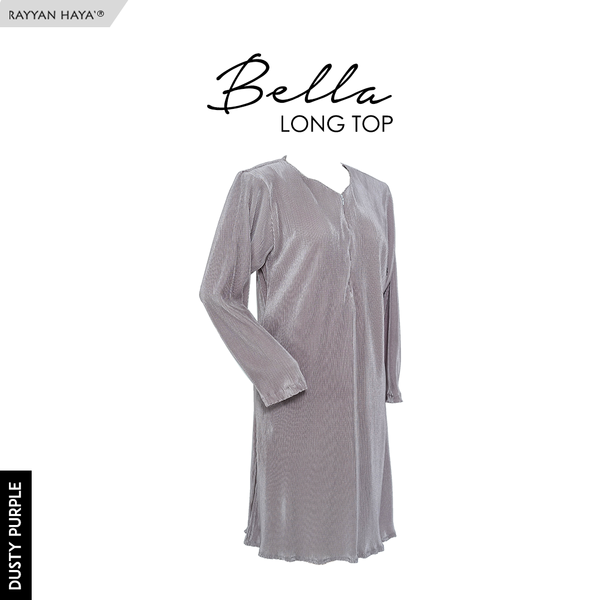 Bella Long Top (Dusty Purple)