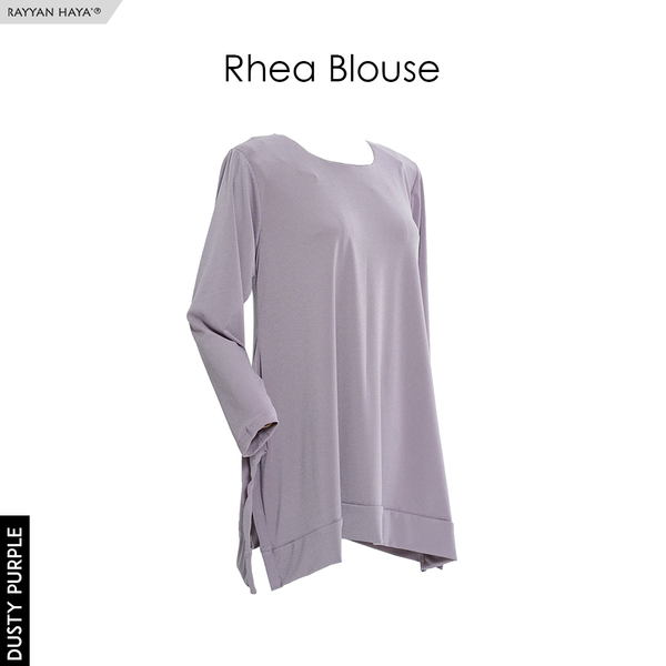Rhea Blouse (Dusty Purple)