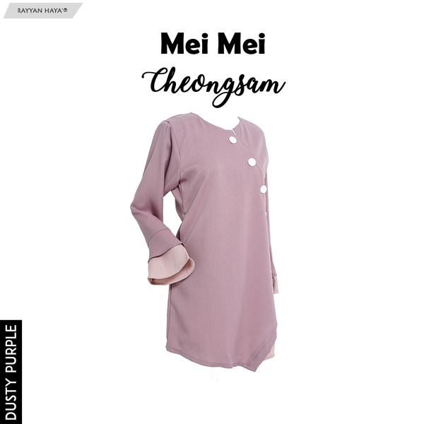 Mei Mei Cheongsam (Dusty Purple)