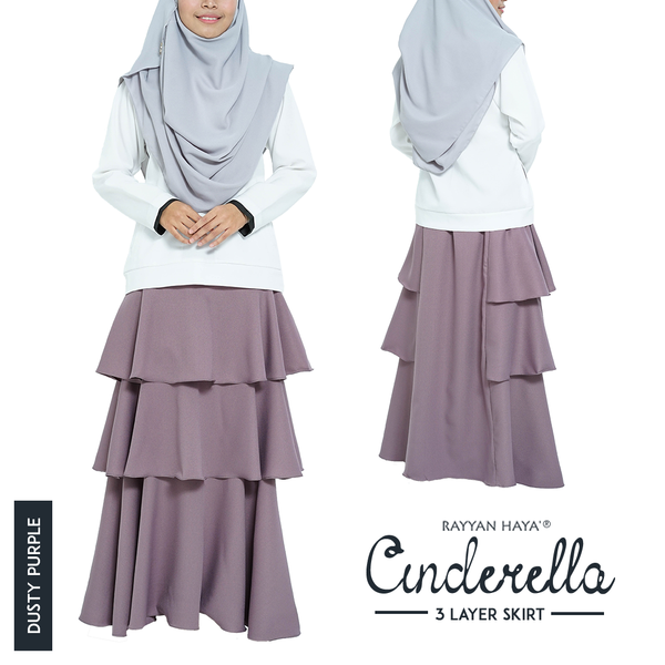 Cinderella Skirt (Dusty Purple)