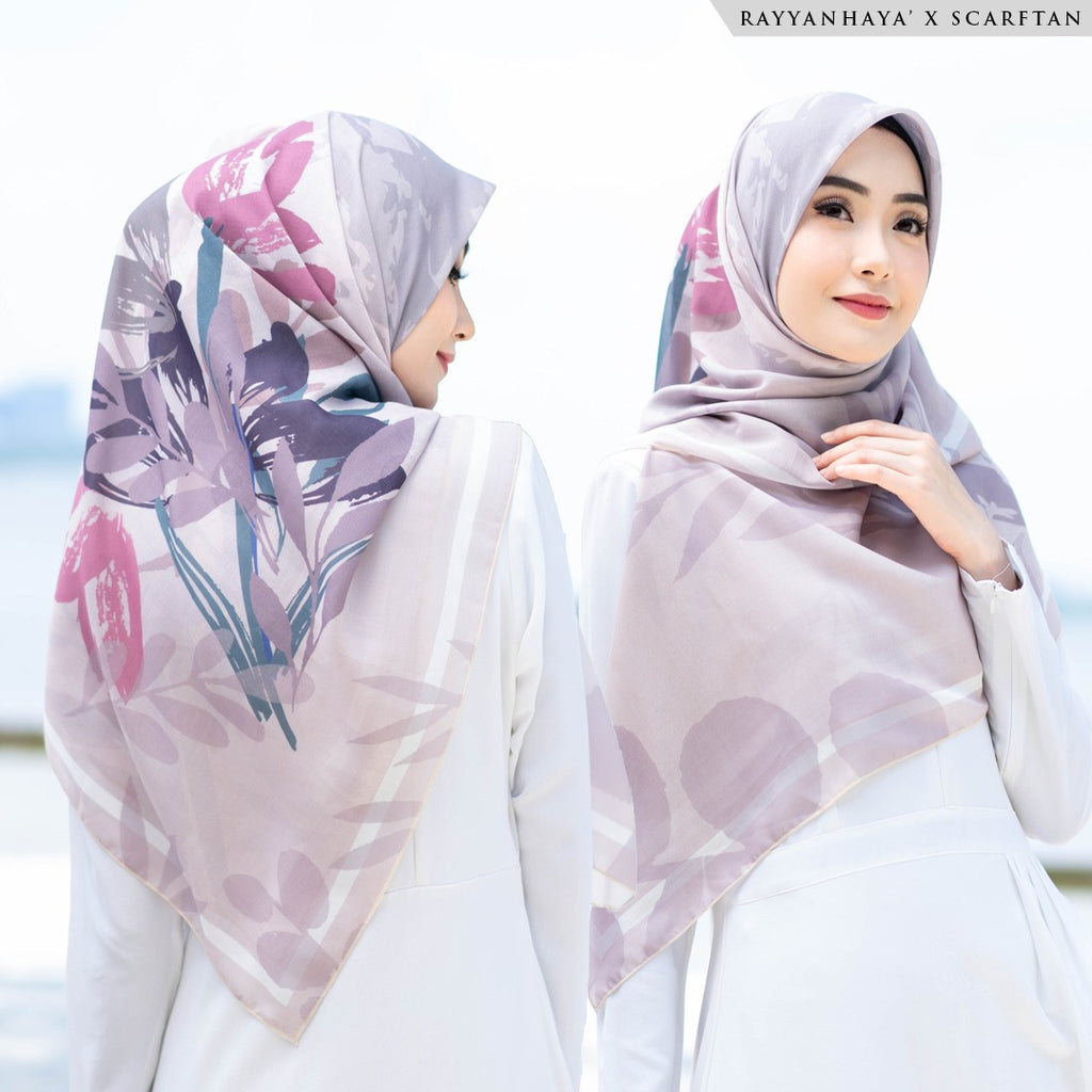 READY STOCK Bawal Tulip 130cm' (Earth)