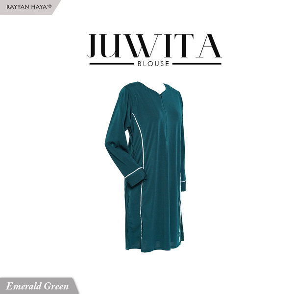 Juwita Blouse (Emerald Green)