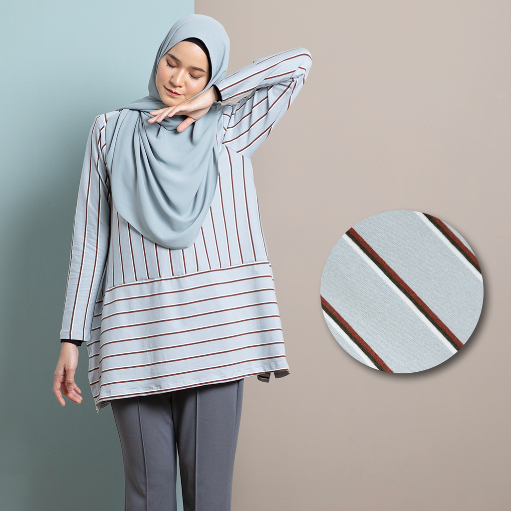 Rhea Top 12 (Powder Blue)