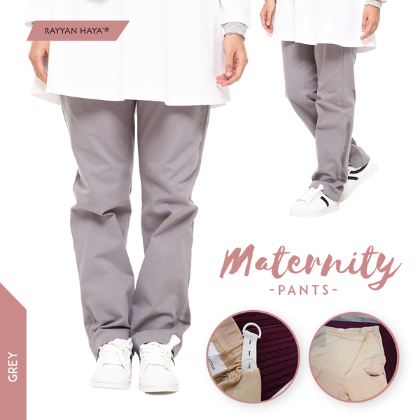 Maternity Pants (Grey)