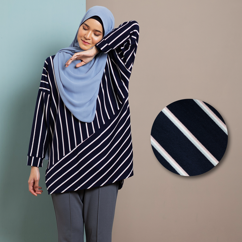 Hanee Top (Dark Blue)